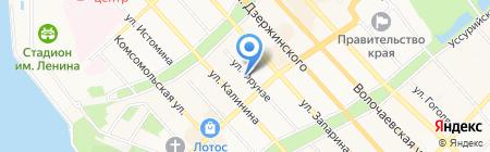 Золотая Русь на карте Хабаровска