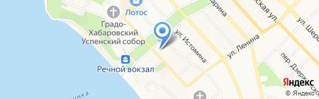 ДВИПиП на карте Хабаровска