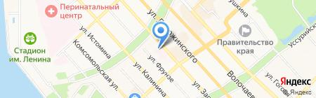 Арт Лайф на карте Хабаровска