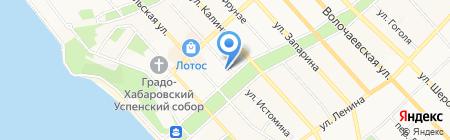 Сахар на карте Хабаровска
