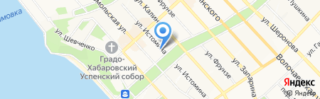 Amur Company на карте Хабаровска