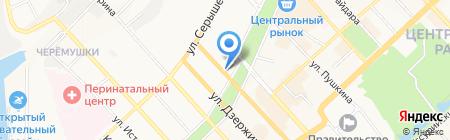 Авеню на карте Хабаровска