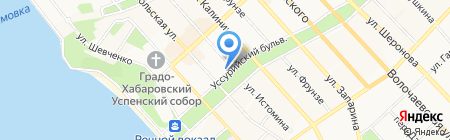 Кричес стоун на карте Хабаровска