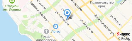 Calliope на карте Хабаровска