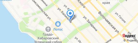 Френч на карте Хабаровска