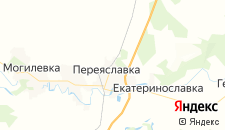 Гостиницы города Переяславка на карте