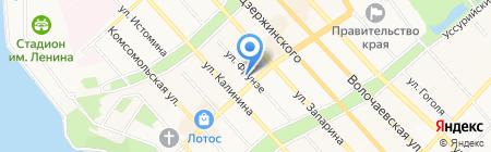 Министерство культуры Хабаровского края на карте Хабаровска