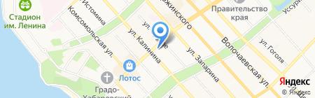 ИЛЬ ДЕ БОТЭ на карте Хабаровска