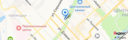 Магазин обуви на карте Хабаровска