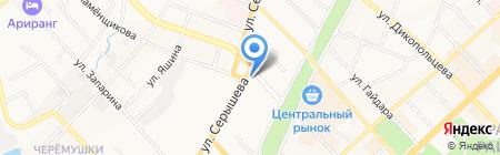 Литрушка на карте Хабаровска