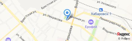 Ness на карте Хабаровска