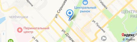 Бутик нижнего женского белья на карте Хабаровска