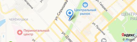 Дива на карте Хабаровска