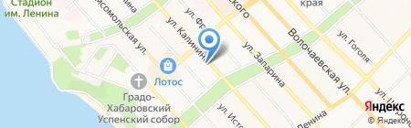 ТехноСвет на карте Хабаровска