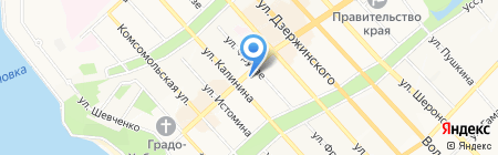 Банк Русский Стандарт на карте Хабаровска