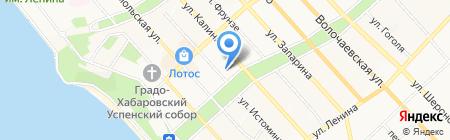 Промэкс на карте Хабаровска