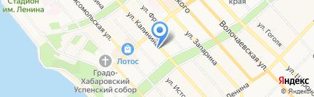 Lime на карте Хабаровска