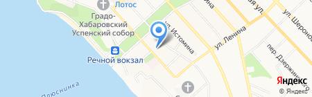 Газпромбанк на карте Хабаровска