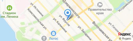 Законодательная Дума Хабаровского края на карте Хабаровска