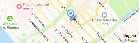 Dolce Vita на карте Хабаровска