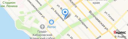 Tokyo street на карте Хабаровска