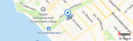 Поплавок 27 на карте Хабаровска