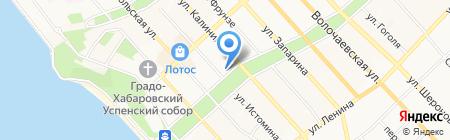 Астрокид на карте Хабаровска