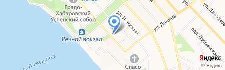 Торговый дом на карте Хабаровска
