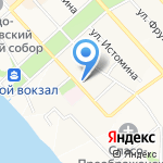 Ворлд Класс на карте Хабаровска