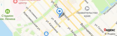 Управление по делам архивов Правительства Хабаровского края на карте Хабаровска