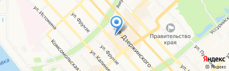Телефон доверия на карте Хабаровска