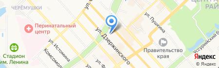 Строймонтаж на карте Хабаровска
