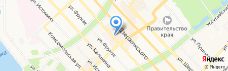 Кабачок на карте Хабаровска
