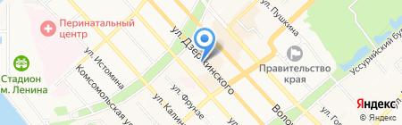 REDKEN 5th AVENUE NYC на карте Хабаровска