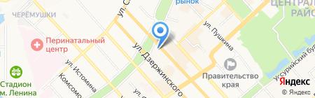 Дары Якутии на карте Хабаровска