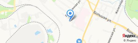 Риквэст-Сервис на карте Хабаровска