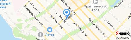 Управление Федеральной почтовой связи Хабаровского края на карте Хабаровска