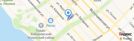 Центр развития образования на карте Хабаровска