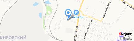 NL International на карте Хабаровска