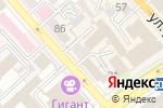 Схема проезда до компании Отто Сервис в Хабаровске