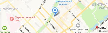 Престиж на карте Хабаровска