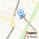 Дальспецстрой на карте Хабаровска