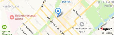Шедевр на карте Хабаровска