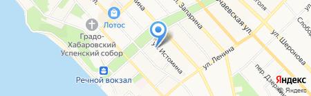 Дальневосточный региональный центр на карте Хабаровска