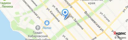 Дальневосточная генерирующая компания на карте Хабаровска