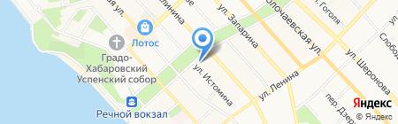 TOPIRA.RU на карте Хабаровска