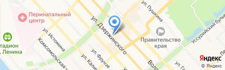 Институт прикладной математики на карте Хабаровска