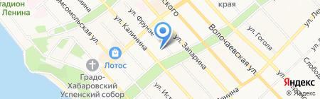 Управление генеральной прокуратуры РФ в Дальневосточном федеральном округе на карте Хабаровска