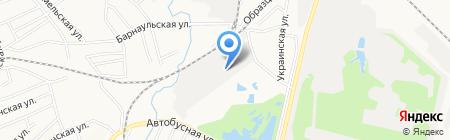 Полигон27 на карте Хабаровска