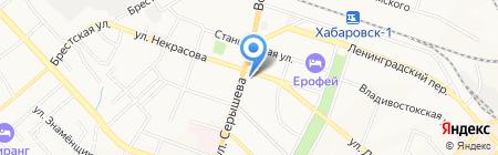 Первый ДК на карте Хабаровска